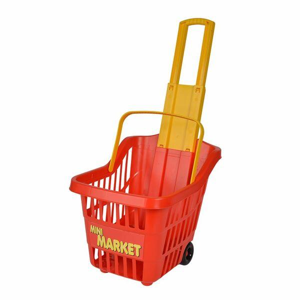 Kinder-Einkaufstrolley Mini Market 30x24,5x26cm