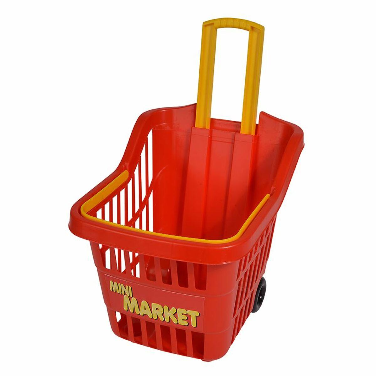 Bild 2 von Kinder-Einkaufstrolley Mini Market 30x24,5x26cm