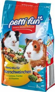 Petti Fun Meerschweinchenfutter 1 kg
