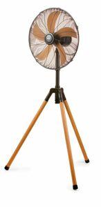 Domo DO8146 Standventilator 45 cm Holzoptik
