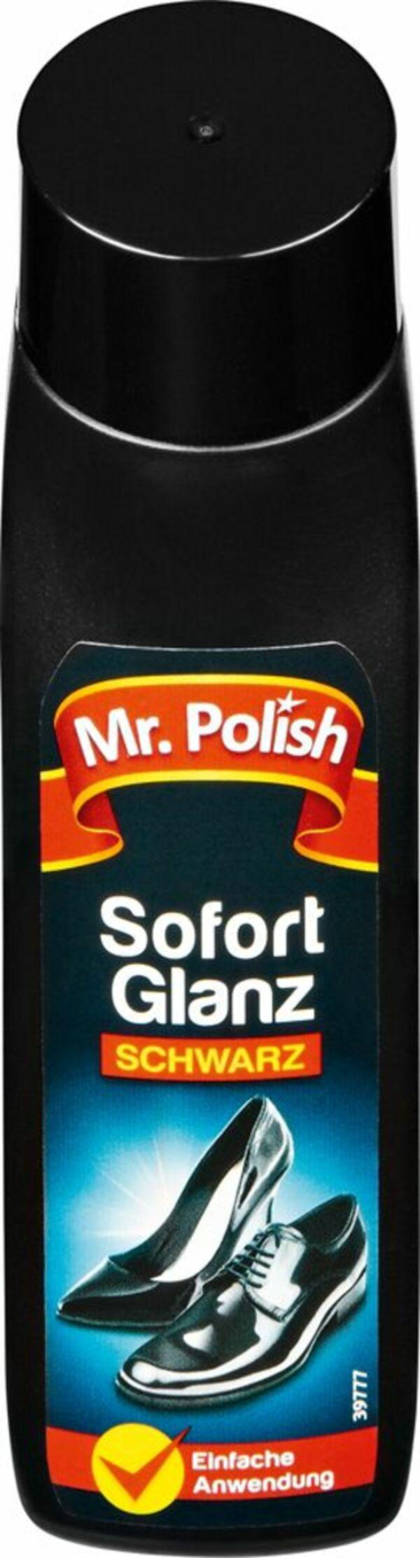 Mr. POLISH SCHNELLGLANZ SCHWARZ, 75ml