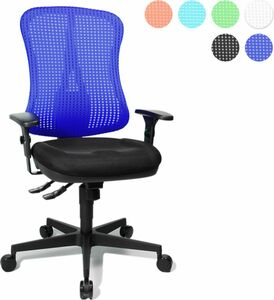 Topstar Bürodrehstuhl Head Point SY, schwarz/dunkelblau