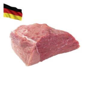 Deutscher frischer Kalbsbraten oder -Gulasch