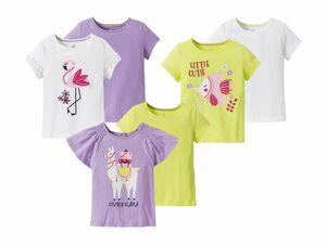LUPILU® 2 Kleinkinder Mädchen T-Shirts