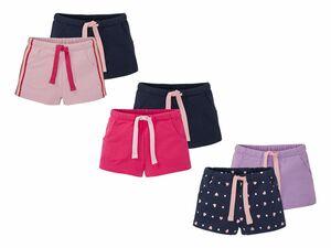 LUPILU® 2 Kleinkinder Mädchen Sweatshorts