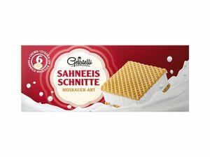 Sahneeis-Schnitte