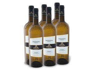6 x 0,75-l-Flasche Weinpaket Peuceta Malvasia Bianca IGP Puglia