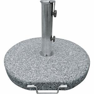 Haveson              Granitschirmständer, 40 kg, rund