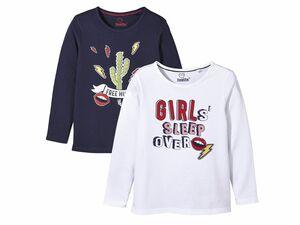 LUPILU® 2 Kleinkinder Mädchen Langarmshirts