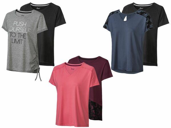 CRIVIT® 2 Damen Funktionsshirts