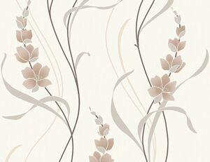 Vinyltapete Blumenranke