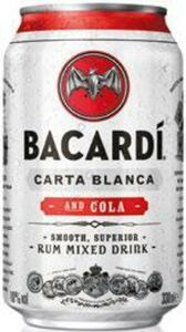 Bacardi Carta Blanca & Cola oder Oakheart & Cola