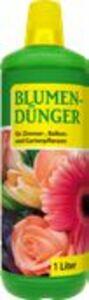 Blumen-Dünger für Zimmer-, Balkon-  & Gartenpflanzen