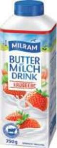 Milram Buttermilchdrink Erdbeere
