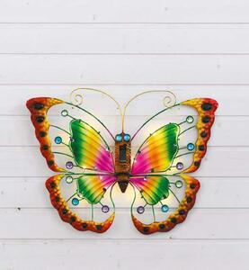 "Garden Dream LED-Solar-Wandleuchte ""Schmetterling"""