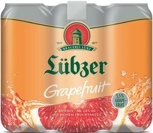 Lübzer Grapefruit Biermix Dose