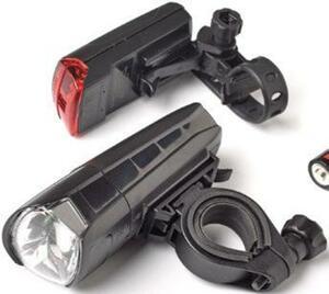 LED-Fahrradbeleuchtungs-Set