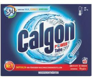 Calgon 3-in-1 Anti-Kalk Tabs oder - Gel
