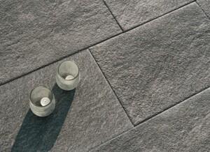 DIEPHAUS Platte Serra ,  60 x 40 x 4 cm, basalt 3 D