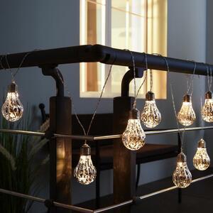 Lichterkette Levin mit 8 Lichtern L ca. 270 cm