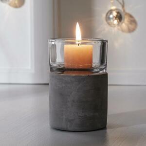 Kerzenhalter Ambiente inkl. Glas Ø/h ca. 8,3/11,9 cm