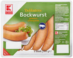 K-CLASSIC  Delikatess Bockwurst