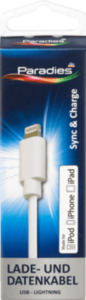 Paradies Lade- und Datenkabel USB-Lightning