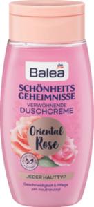 Balea Dusche Schönheitsgeheimnisse Rose
