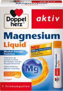 Doppelherz Magnesium Liquid Trinkampullen