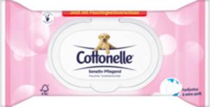 Cottonelle Feuchtes Toilettenpapier Sensitiv Pflegend