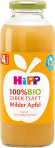 Hipp Saft 100% Bio Direktsaft Milder Apfel nach dem 4. Monat
