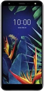 LG K40 Smartphone platinum grey