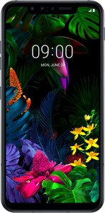 LG G8s Smartphone mirror black