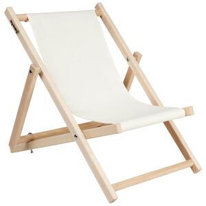My Baby Lou Kinderliegestuhl Holz, Textil Mehrfarbig, Beige