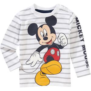 Micky Maus Langarmshirt mit Schulterknöpfung