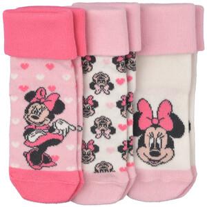 3 Paar Minnie Maus Socken im Set