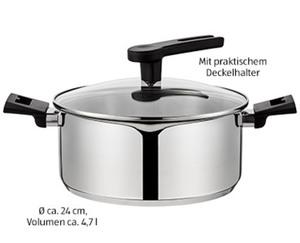 CROFTON®  Chef's Collection Edelstahl-Topf,∅ ca. 24 cm