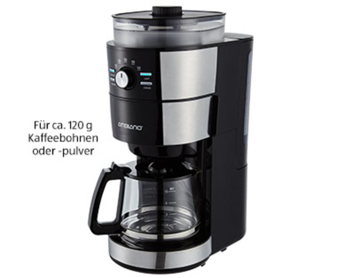 Bild 1 von AMBIANO®  Kaffeemaschine mit Mahlwerk