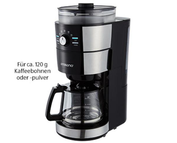 AMBIANO®  Kaffeemaschine mit Mahlwerk