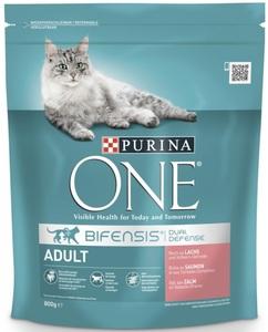 Purina One Cat Bifensis Adult Lachs und Vollkorn-Getreide 800 g
