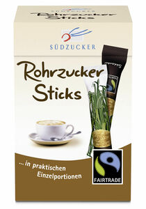 Südzucker Fairtrade Rohrzucker Sticks 250 g