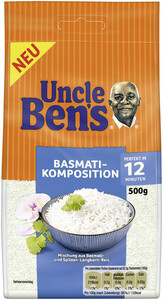Uncle Ben´s Basmati Komposition lose 12 Minuten 500 g