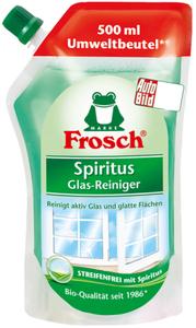 Frosch Spiritus Glasreiniger Nachfüllpackung 500 ml