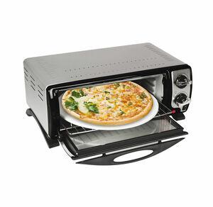 Gourmet- und Pizzaofen mit Pizzastein, ca. 33x31x11cm