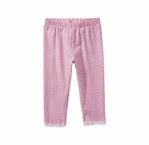 Kids Mädchen-Caprihose mit Punkte-Muster