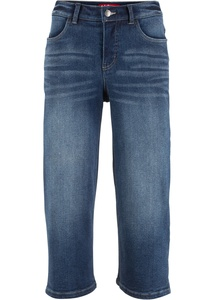 Jeans-Culotte aus klassischem Denim