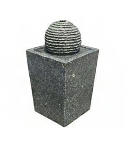Dehner Granit-Gartenbrunnen Ohio, Ø 32 x 70 cm