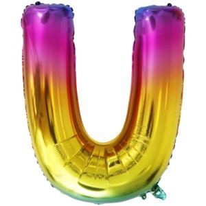 Folienballon Buchstaben XL