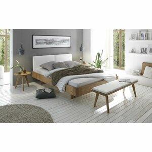 HASENA Massivholzbett   Oak-Bianco 180 x 200 cm