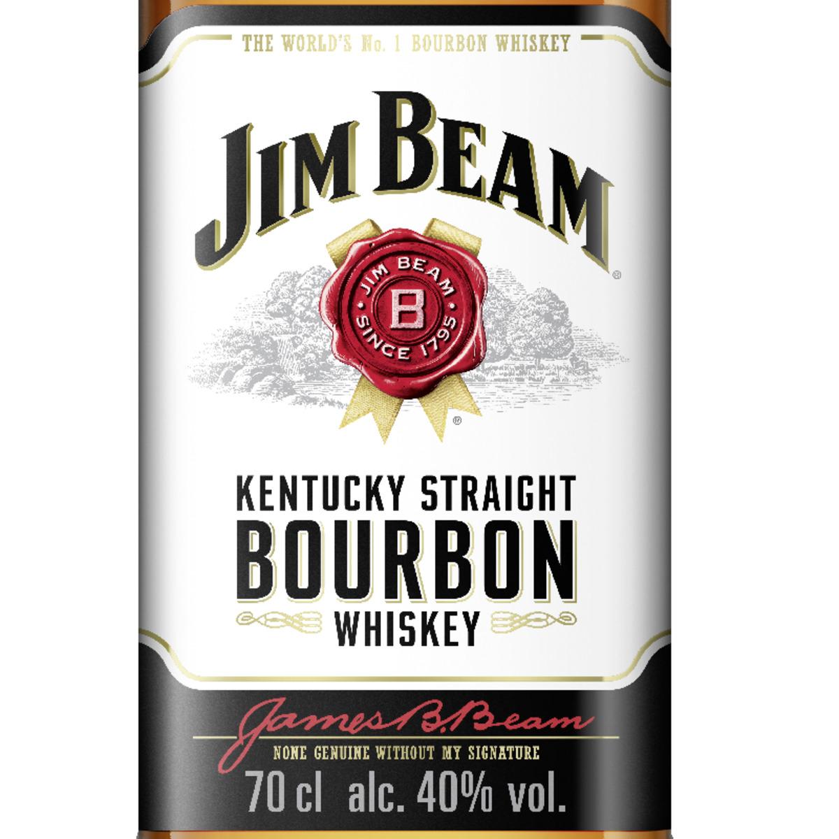 Bild 2 von Jim Beam Bourbon Whisky